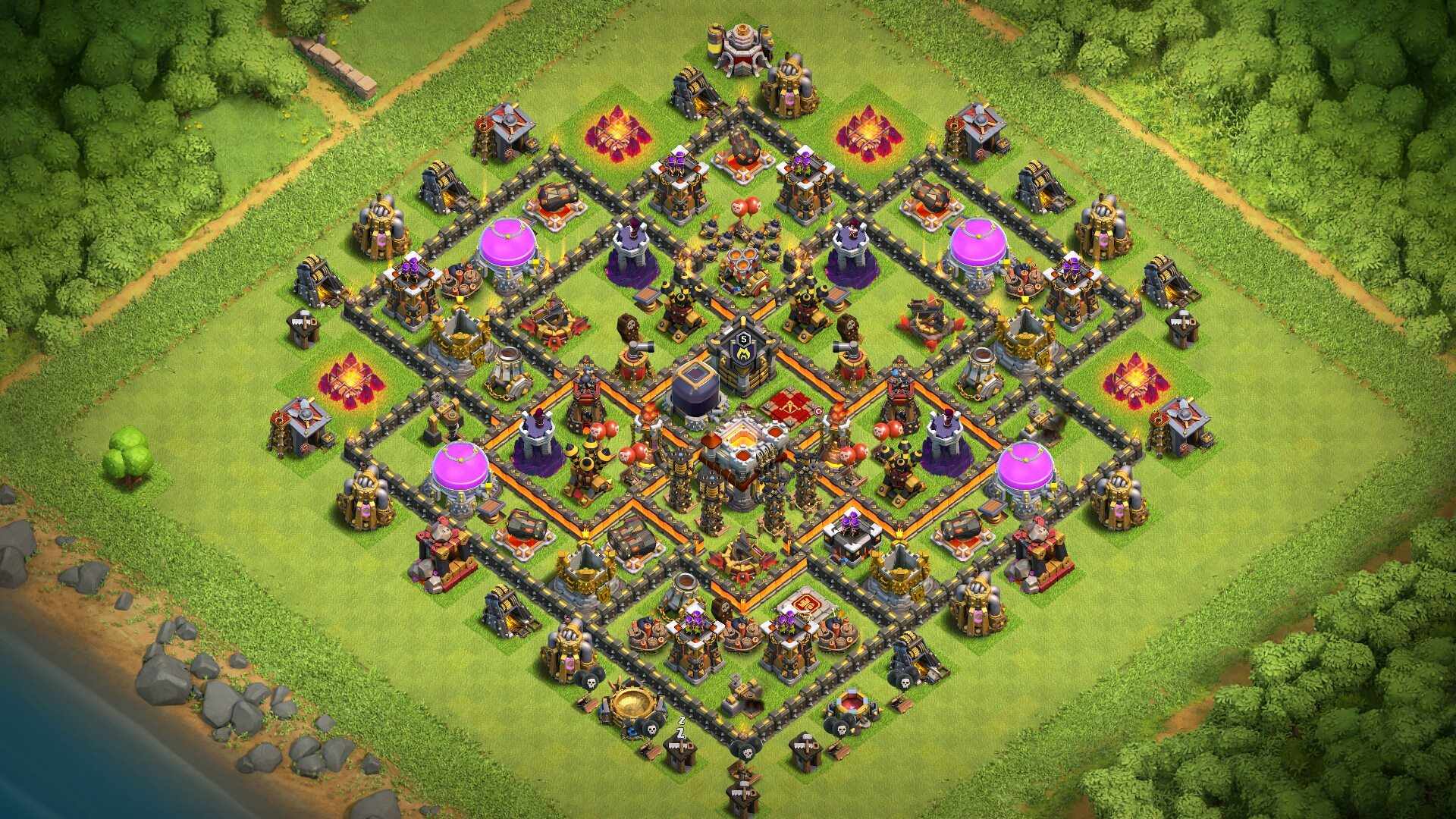 BEST TH10 Base 2018 | New Town Hall 10 Trophy/Farming Base