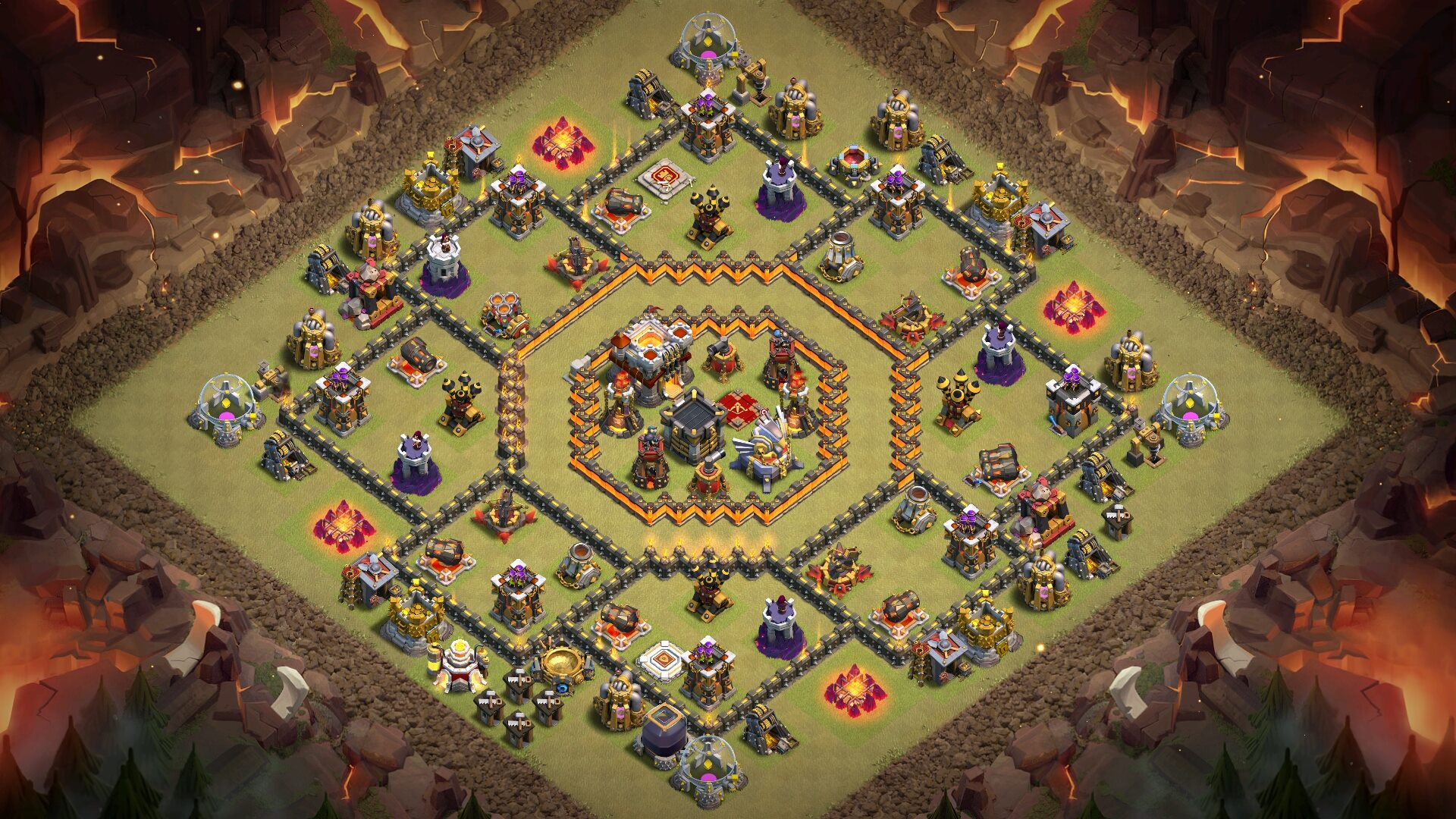 NEW Town Hall 11 (th11) War Base 2018 (Layout)
