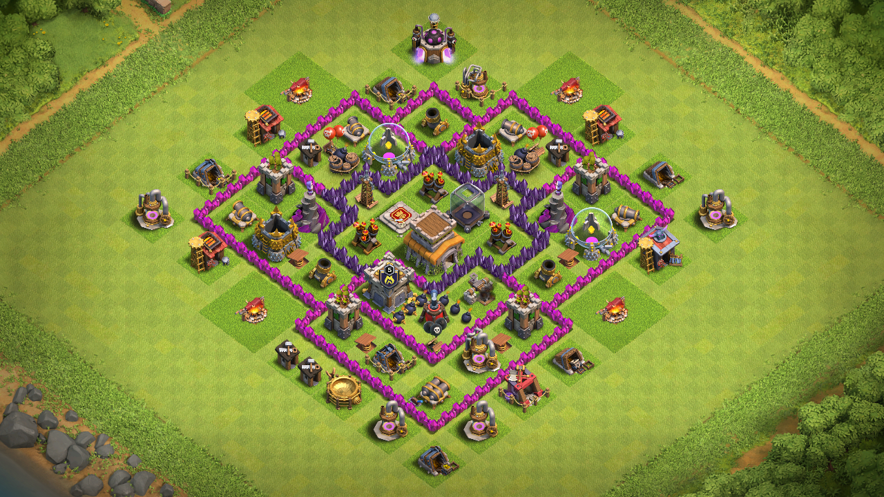 NEW Town Hall 7 (TH7) TROPHY Base Design 2018 - Base of Clans