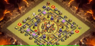 New TH10 War Base 2018 Anti Queen Walk | Anti 2 Star TH10 Base | Anti LAVALOON | Clash of Clans