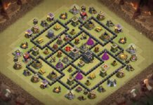 New Th9 War Base 2018 Anti 3 Stars