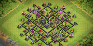New Town Hall 9 (TH9) Base 2018