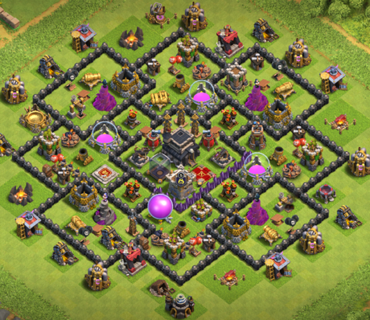 New Town Hall 9 Base Layout 2018