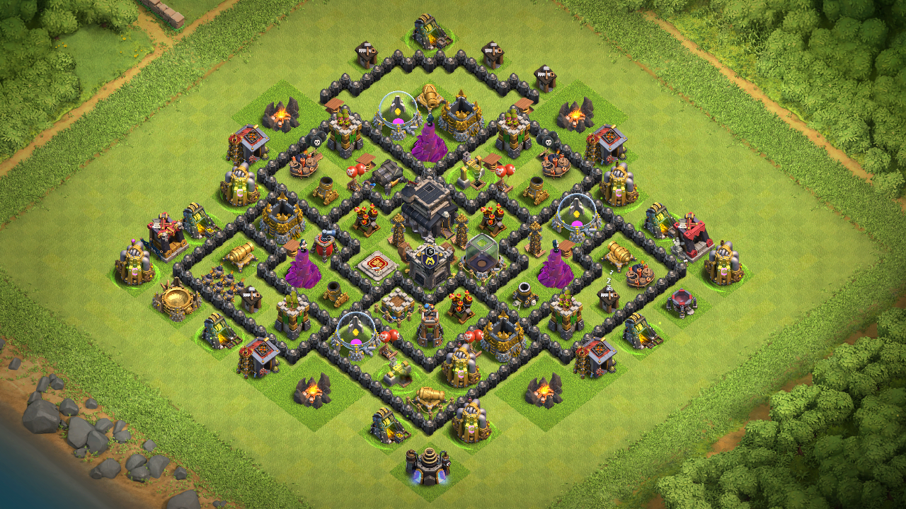 CoC Best Th8 Base Design 2018