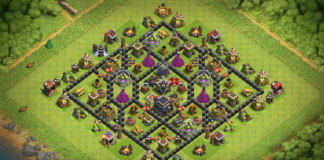 NEW TOWN HALL 9 TROPHY-FARMING BASE 2018