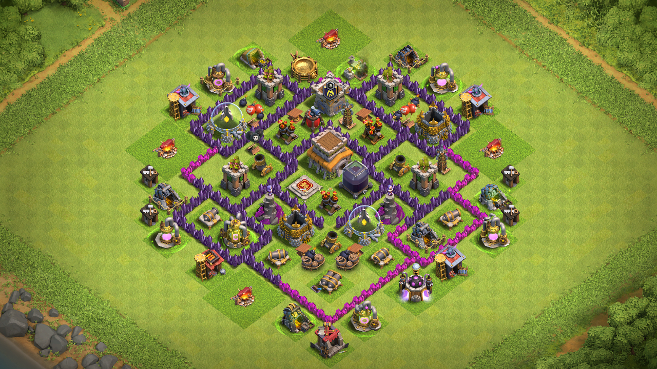 New TH7 HYBRID-TROPHY Base 2018 [defense]