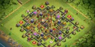 New Th11 Strong Defensive Legend Base 2018