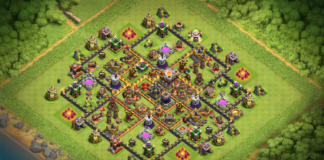 New Town Hall 10 Trophy-Farming Base