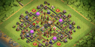 TH11 Trophy/Farming Base 2018