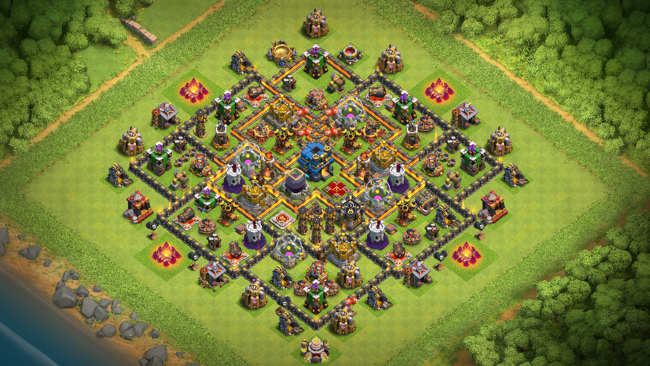 BEST TH 10 Base with Multi Mortar