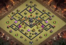 NEW Clash of Clans TH8 War Base 2018 that cover whole area