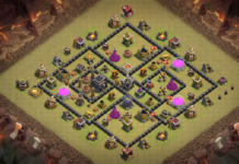 NEW! Clash of Clans Town Hall 8 (TH8) War Base 2018 !!