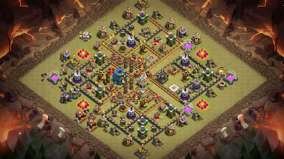 Base Farming Th 11 Anti Naga Elektro 1