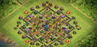 NEW Town Hall 9 Base without Archer Queen 2018!