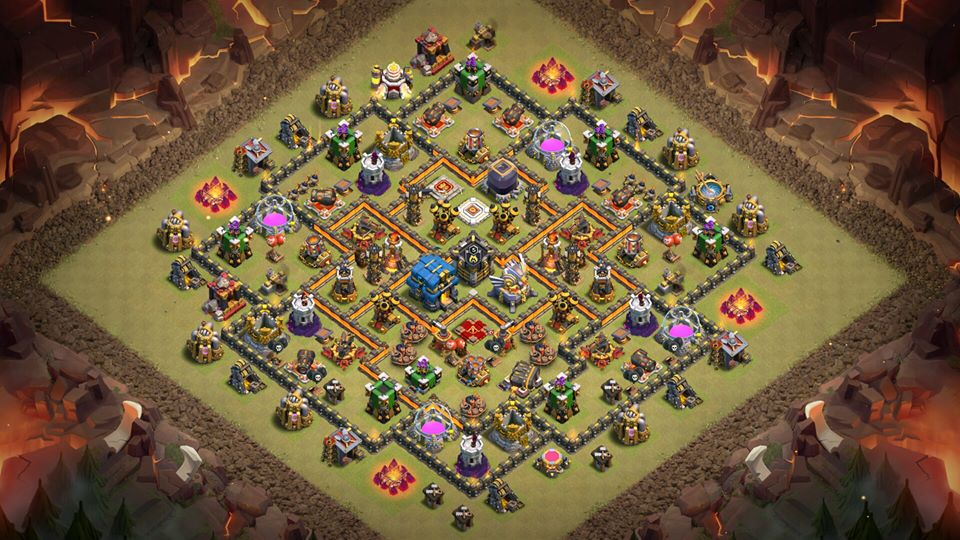 Anti Everything Coc Th11 War Base 2019 11