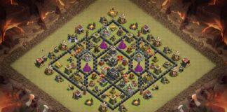 New Best TH9 War Base 2018 with REPLAY