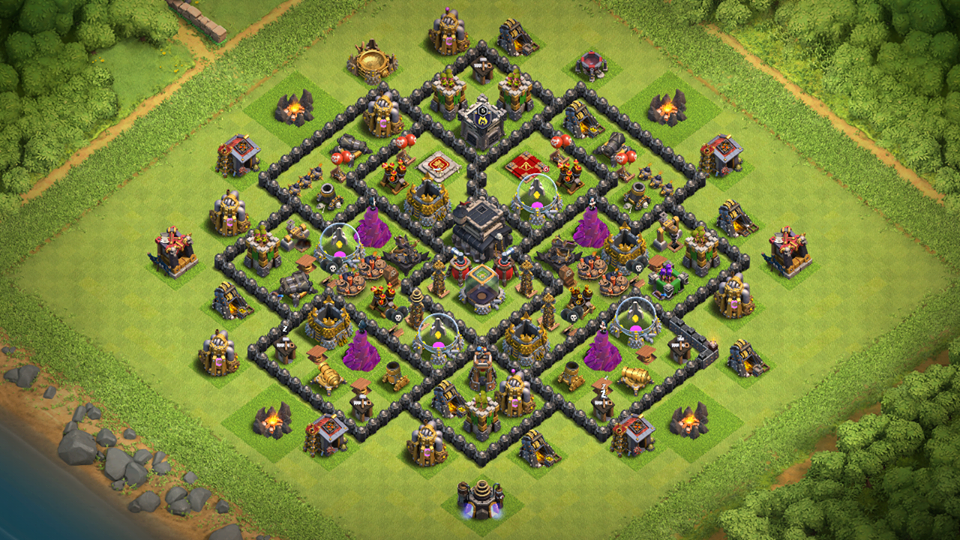 New COC Town Hall 9 Farming Base 2018