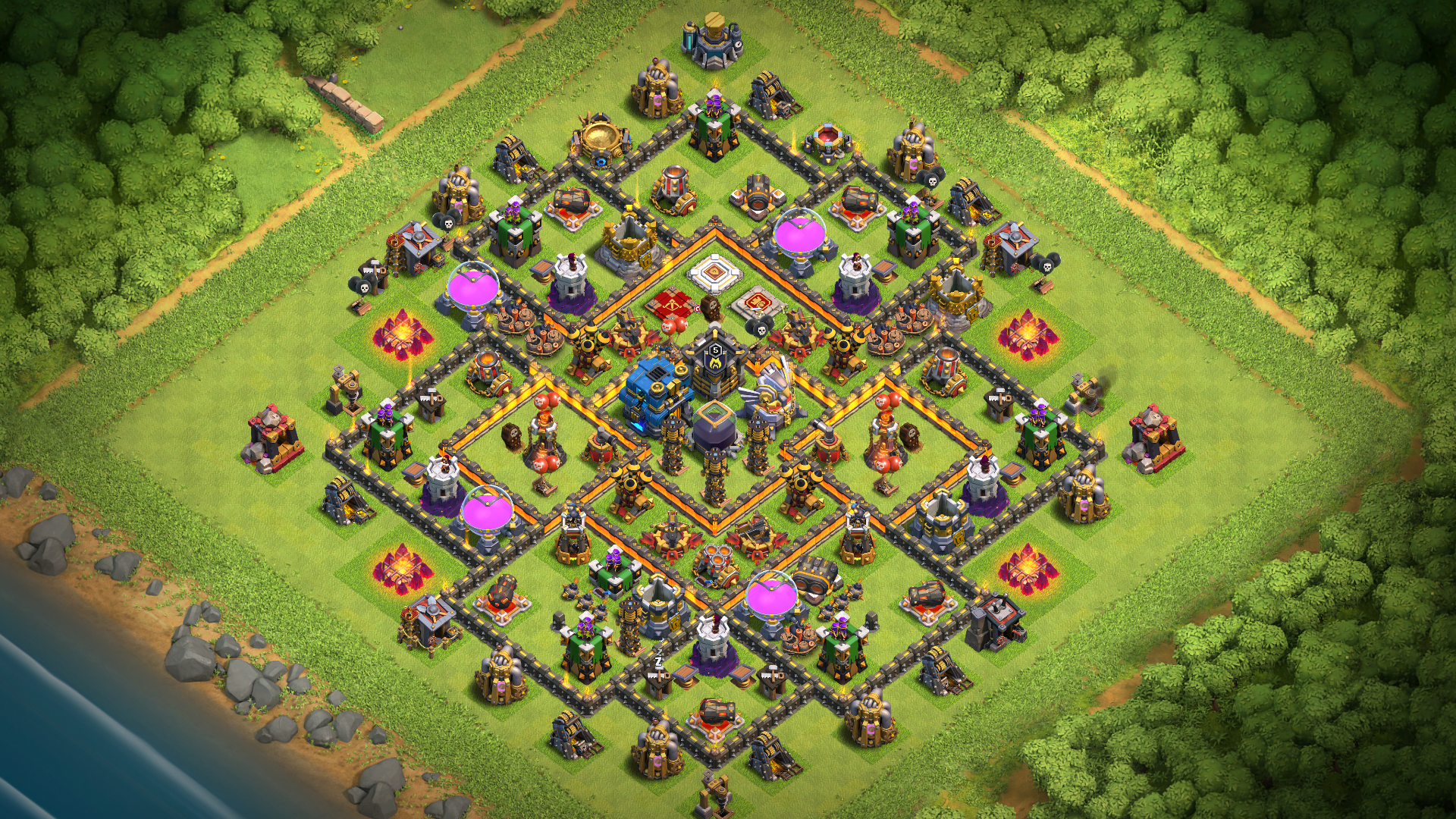 th11 Farming-Trophy Base