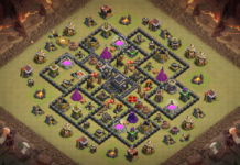 Clash of Clans Town Hall 9 TH9 DEFENSE base 2018