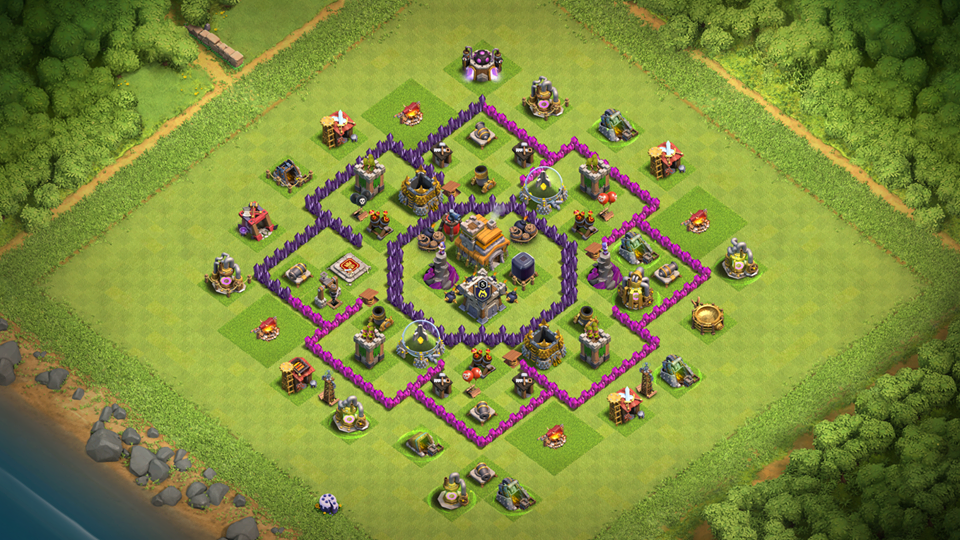 INSANE TH7 TROPHY-FARMING Base 2018 August with REPLAY