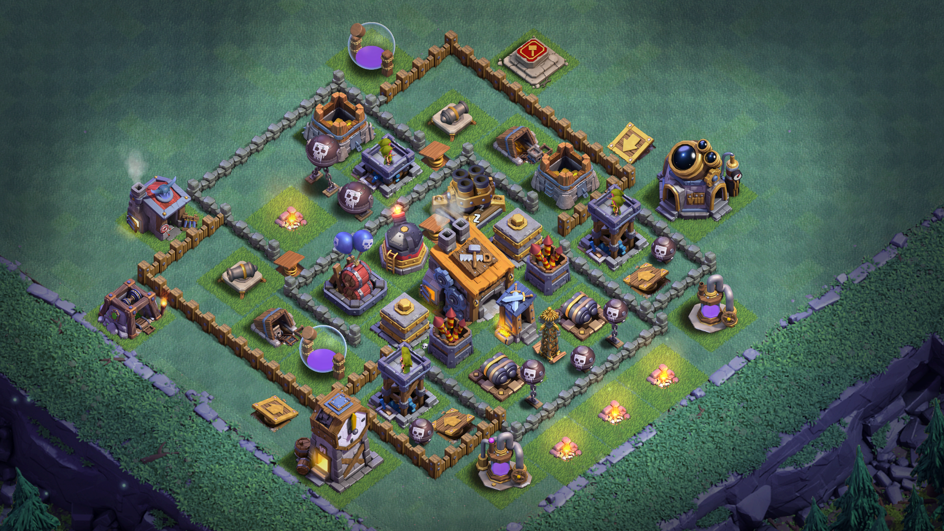 NEW BUILDER HALL 6 BH6 BASE ANTI 1 STAR 2018 August