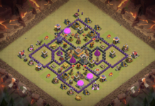 NEW Clash of Clans Town Hall 8 TH8 War Base 2018 August