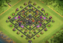 NEW TOWN HALL 9 BASE 2018 August WITH REPLAY