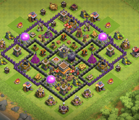 New BEST TH8 TROPHY-FARMING Base with REPLAY 2018 August