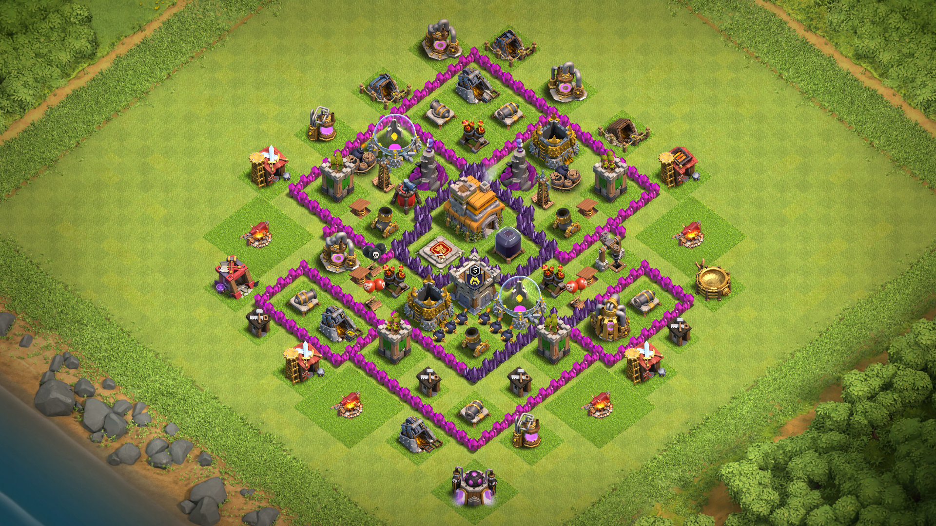 New Town Hall 7 Th7 Base 2018 August