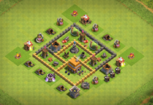 NEW BASE TH5 TROPHY Base with REPLAY 2018 August
