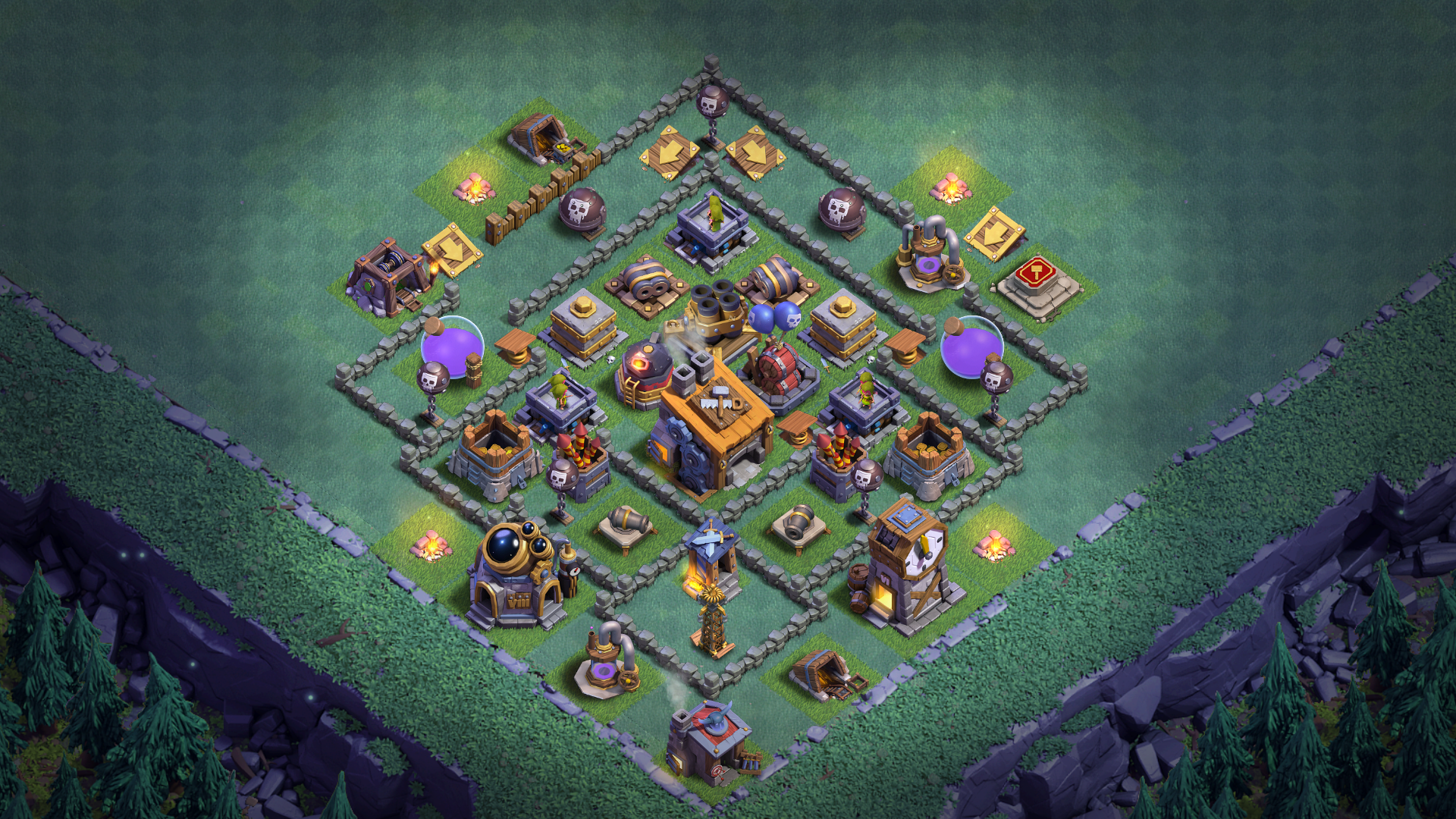 NEW BUILDER HALL 6 BH6 BASE ANTI 1 STAR 2018 September