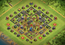 NEW TH10 Base without Inferno Towers 2018