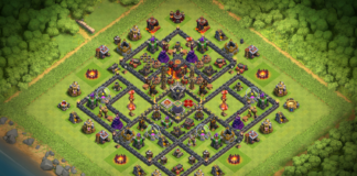 NEW Town Hall 10 TH10 Base with REPLAYS 2018 September