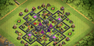 NEW Town hall 9 Base 2018 September