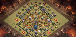 New TH11 War Base 2018 September