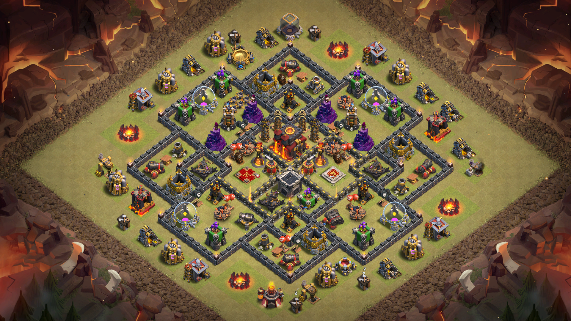 NEW TH10 War Base 2018
