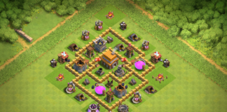 Best TH5 Base TROPHY Base 2018