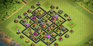 New TH8 base with Replays 2018!!