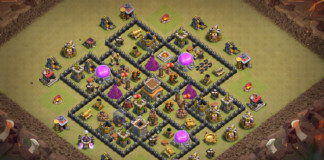 TOP Clash of Clans TH8 War Base 2018 September