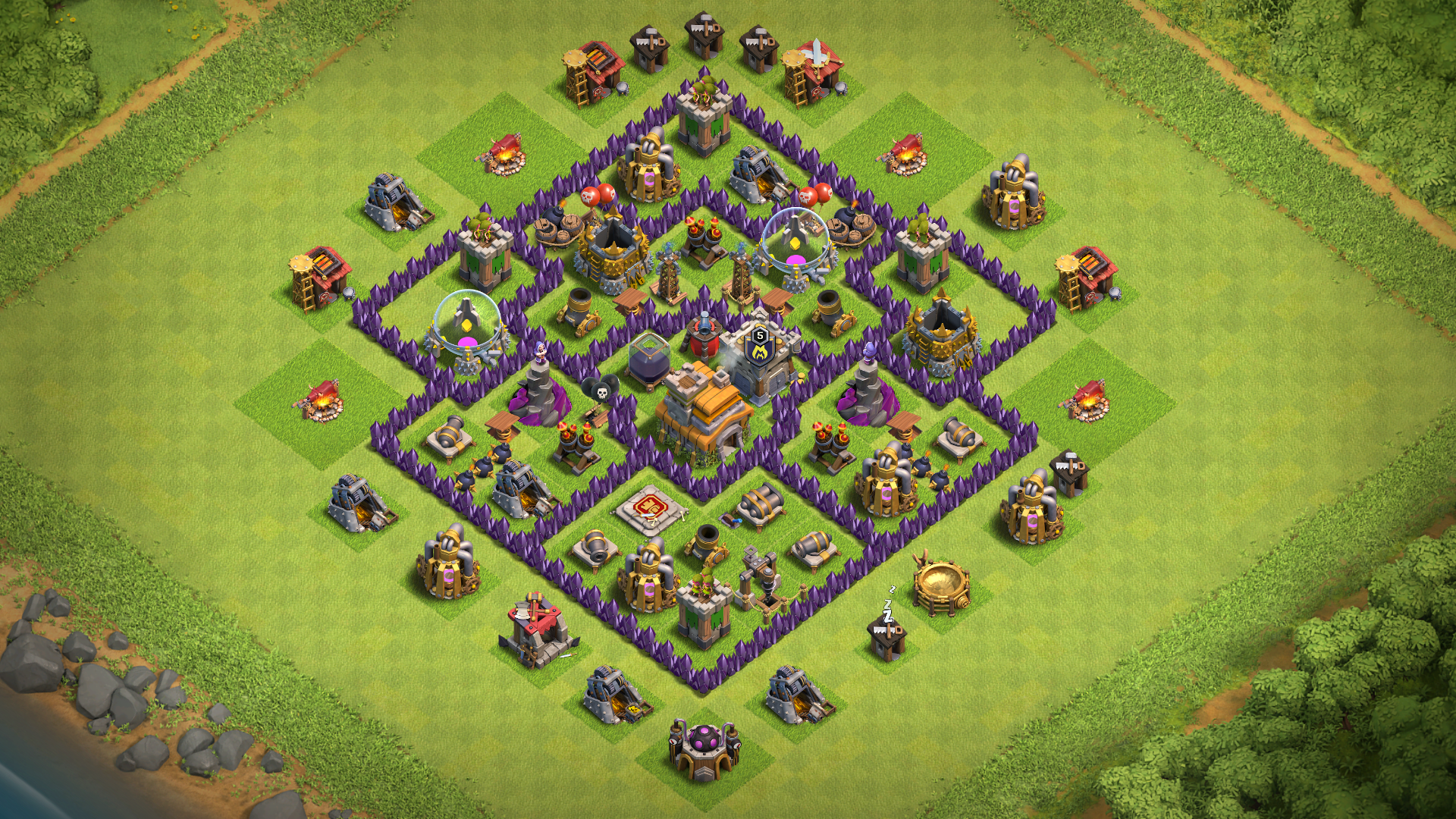 TOP TH7 HYBRID-TROPHY Base 2018