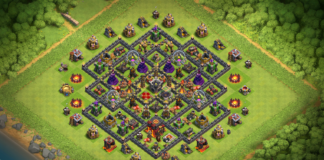 Town Hall 10 TOP TH10 Dark Elixir Farming Base