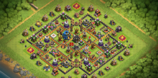 Clash of Clans TH11 Base Troll