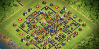 TH12 Dark Elixir Farming base