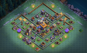 Clash of Clans, Top Builder Hall 8 Base