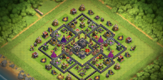 New Town Hall 9 Trophy Base 2018