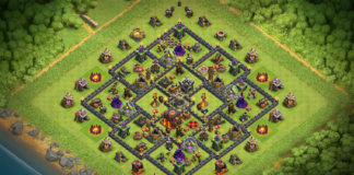 NEW TH10 DARK ELIXIR FARMING BASE