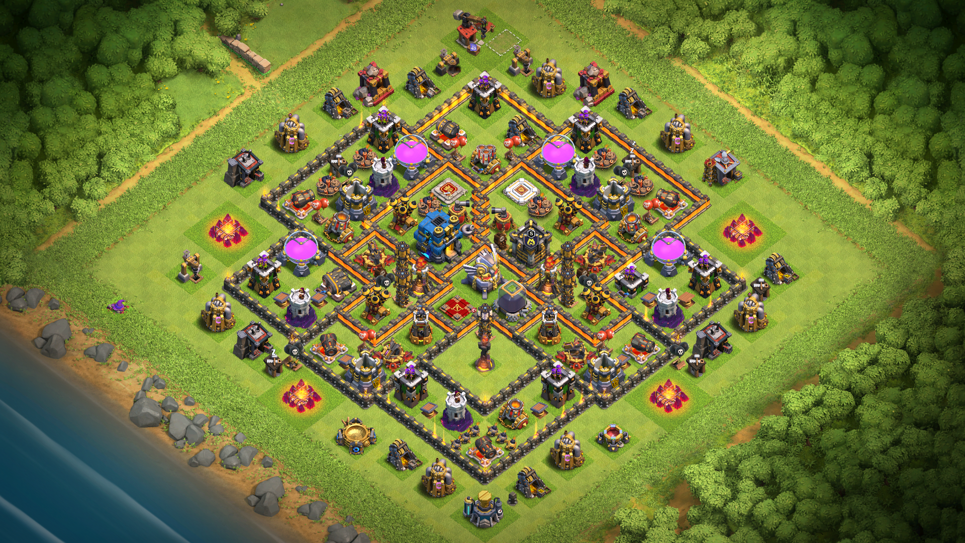 NEW UPDATE TH12 Base
