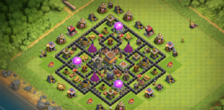BEST Town Hall 8 Defense