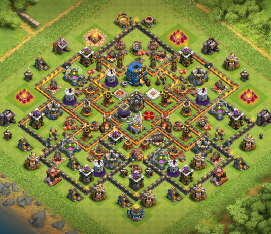 New UPDATED TH11 Base 2018 with Tornado trap