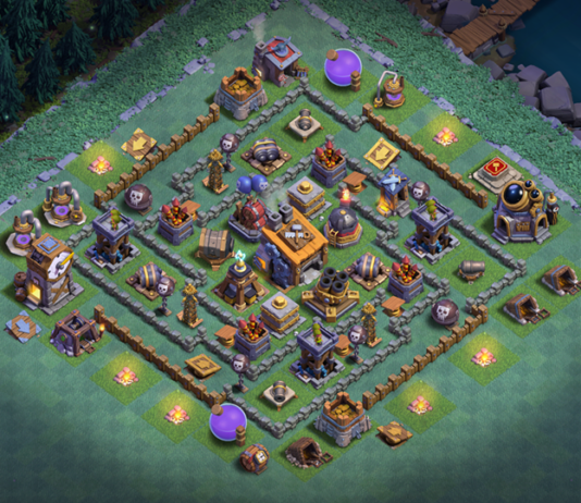 BEST Builder Hall 8 BASE WITH REPLAY